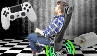 how to connect gaming chair to ps4